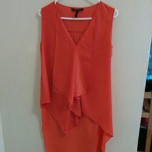 BCBGmaxazria orange top